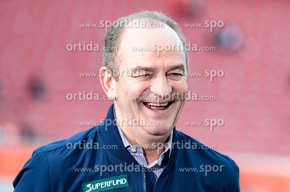 09.05.2018, Woerthersee Stadion, Klagenfurt, AUT, OeFB Uniqa Cup, SK Puntigamer Sturm Graz vs FC Red Bull Salzburg, Finale, im Bild Herbert Prohaska (ORF Experte) // during the final match of the ÖFB Uniqa Cup between SK Puntigamer Sturm Graz and FC Red Bull Salzburg at the Woerthersee Stadion in Klagenfurt, Austria on 2018/05/09. EXPA Pictures © 2018, PhotoCredit: EXPA/ Johann Groder