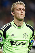 Onderwerp/Subject: Ajax - Champions League<br /> Reklame:  <br /> Club/Team/Country: <br /> Seizoen/Season: 2013/2014<br /> FOTO/PHOTO: Goalkeeper Jasper CILLESSEN of Ajax. (Photo by PICS UNITED)<br /> <br /> Trefwoorden/Keywords: <br /> #03 #09 $94 &plusmn;1377840750319<br /> Photo- &amp; Copyrights &copy; PICS UNITED <br /> P.O. Box 7164 - 5605 BE  EINDHOVEN (THE NETHERLANDS) <br /> Phone +31 (0)40 296 28 00 <br /> Fax +31 (0) 40 248 47 43 <br /> http://www.pics-united.com <br /> e-mail : sales@pics-united.com (If you would like to raise any issues regarding any aspects of products / service of PICS UNITED) or <br /> e-mail : sales@pics-united.com   <br /> <br /> ATTENTIE: <br /> Publicatie ook bij aanbieding door derden is slechts toegestaan na verkregen toestemming van Pics United. <br /> VOLLEDIGE NAAMSVERMELDING IS VERPLICHT! (&copy; PICS UNITED/Naam Fotograaf, zie veld 4 van de bestandsinfo 'credits') <br /> ATTENTION:  <br /> &copy; Pics United. Reproduction/publication of this photo by any parties is only permitted after authorisation is sought and obtained from  PICS UNITED- THE NETHERLANDS