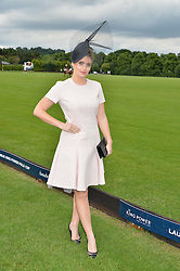 LADY KITTY SPENCER at the Laureus King Power Cup polo match held at Ham Polo Club, Richmond on 16th June 2016.
