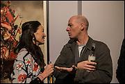 BRIGITTA FREUND; PAUL ROWE, Antony Micallef private at Lazarides Rathbone, 11 RATHBONE PLACE, London. 12 February 2015