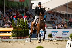 Laschet Hugo, BEL, Ichak De Monfirak<br /> European Championship Eventing<br /> Luhmuhlen 2019<br /> © Hippo Foto - Dirk Caremans