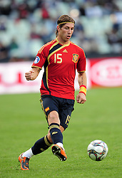 Sergio Ramos  during the soccer match of the 2009 Confederations Cup between Spain and Iraq played at Vodacom Park,Bloemfontein,South Africa on 17 June 2009.  Photo: Gerhard Steenkamp/Superimage Media.