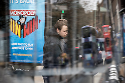 © Licensed to London News Pictures . 06/04/2017 . Manchester , UK . A person standing in a catatonic-like state in front of Morrisons Supermarket in Piccadilly Gardens . An epidemic of abuse of the drug spice by some of Manchester's homeless population , in plain sight , is causing users to experience psychosis and a zombie-like state and is daily being witnessed in the Piccadilly Gardens area of Manchester , drawing large resource from paramedic services in the city centre . Photo credit : Joel Goodman/LNP