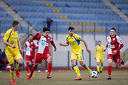 Dejan Petrovic of NK Aluminij during football match between NK Domzale and NK Aluminij in Round #24 of Prva liga Telekom Slovenije 2017/18, on March 18, 2018 in Sports park Domzale, Domzale, Slovenia. Photo by Urban Urbanc / Sportida
