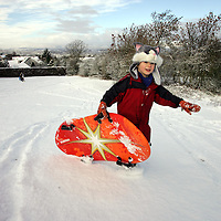 Snowfall, Perth...08.02.07<br />