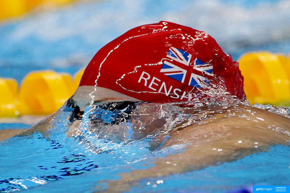 Swimming - Olympics: Day 5  Molly Renshaw of Great Britain in action in the Women's 200m Breaststroke semifinals during the swimming competition at the Olympic Aquatics Stadium August 10, 2016 in Rio de Janeiro, Brazil. (Photo by Tim Clayton/Corbis via Getty Images)