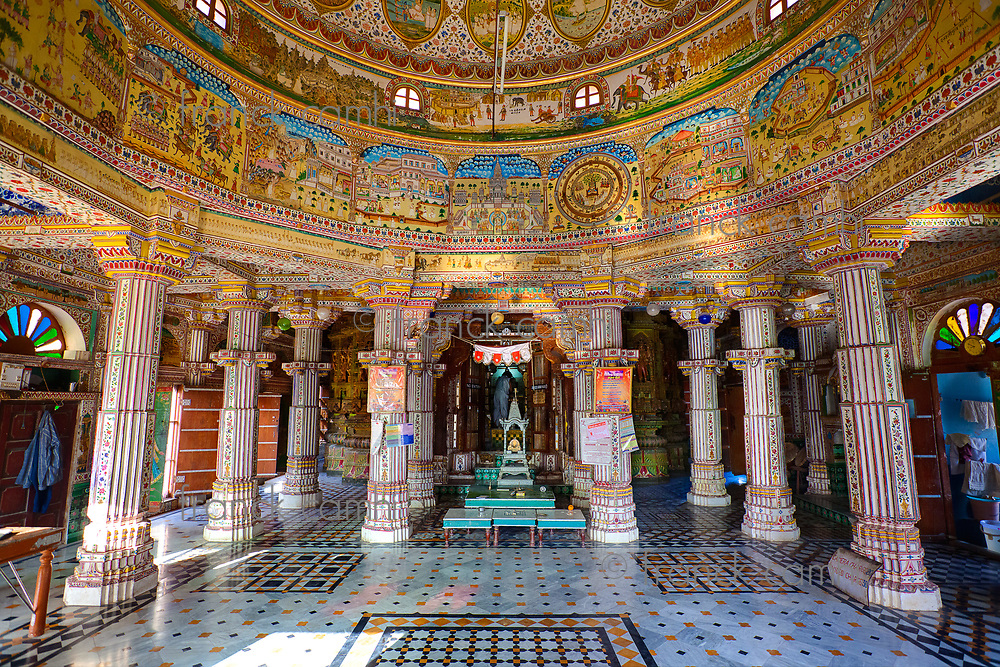 Laxmi Nath Temple in city of Bikaner rajasthan state in india