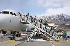 Queenstown-Ireland RWC Team Arrival