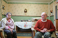 Noreen and Mick love heir prefab too. They have been living in it since the 50s and cherished both their interior and their garden where they grow all sorts of fruits and vegetables. They have a great sense of humour. They keep on making jokes. I can't get half of them, unfortunately. Mick has a strong Birmingham accent and Noreen is from the Black Country. Unfortunately Noreen's health is not good and has been deteriorating the last year.