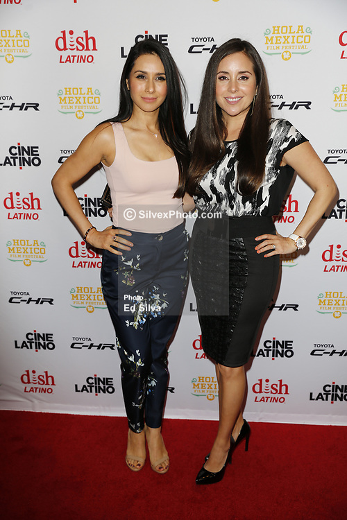 LOS ANGELES, CA - JUNE 7 Karyme Lozano and Patricia Maya attend the 9th Annual Hola Mexico Film Festival Opening Night at the Regal LA LIVE in downtown Los Angeles, on June 7, 2017 in Los Angeles, California. Byline, credit, TV usage, web usage or linkback must read SILVEXPHOTO.COM. Failure to byline correctly will incur double the agreed fee. Tel: +1 714 504 6870.