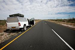 NAMIBIA MALTAHOEHE 19APR14 - A long look down the C19 tar road near Maltahoehe, Hardap District, Namibia.<br /> <br /> <br /> jre/Photo by Jiri Rezac<br /> <br /> <br /> <br /> &copy; Jiri Rezac 2014