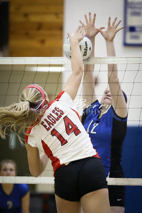 November/6/12:  MCHS Varsity Volleyball vs East Rockingham Eagles.  Madison defeats East Rock 3-2 (21-25, 25-23, 25-21, 20-25, 15-9) and advances to the Region B semi finals to play the winner of Luray and Riverheads.   MOUNTAINEERS: 3 .EAST ROCKINGHAM: 2..The Varsity Volleyball team won a thrilling 5 set match tonight over East Rockingham in the Region B 1/4 Finals 3-2. The Mountaineers trailed 7-1 in game 5 before rallying to score 13 consecutive points and go on to win 15-9...Madison will host Luray on Thursday night at 7:00pm in the Region B Semi-Finals. The Mountaineers will not only be trying to secure a trip to the Region B Finals but also the schools first ever trip to the state playoffs in volleyball.