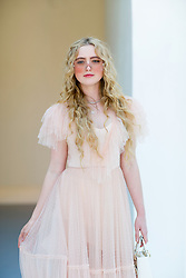Street style, Kathryn Newton arriving at Dior Fall-Winter 2018-2019 Haute Couture show held at Musee Rodin, in Paris, France, on July 2nd, 2018. Photo by Marie-Paola Bertrand-Hillion/ABACAPRESS.COM