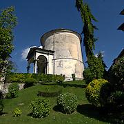Sacro Monte di Varallo XVII° cappella: La trasfigurazione..The Sacro Monte of Varallo XVII° Chapel: The Transfiguration