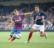 James McArthur and Luka Tankulic - Crystal Palace v Dundee - Julian Speroni testimonial match at Selhurst Park<br /> <br />  - © David Young - www.davidyoungphoto.co.uk - email: davidyoungphoto@gmail.com