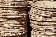 Fortaleza_CE, Brasil.<br /> <br /> Artesanato da palha de carnauba em Fortaleza, Ceara.<br /> <br /> Crafts of carnauba straw in Fortaleza, Ceara.<br /> <br /> Foto: RODRIGO LIMA / NITRO