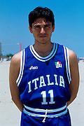Nazionale a Roseto Degli Abruzzi 1996<br /> davide bonora
