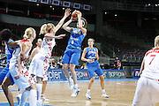 DESCRIZIONE : Riga Latvia Lettonia Eurobasket Women 2009 Qualifying Round Russia Italia Russia Italy<br /> GIOCATORE : Simona Ballardini<br /> SQUADRA : Italia Italy<br /> EVENTO : Eurobasket Women 2009 Campionati Europei Donne 2009 <br /> GARA : Russia Italia Russia Italy<br /> DATA : 14/06/2009 <br /> CATEGORIA : tiro<br /> SPORT : Pallacanestro <br /> AUTORE : Agenzia Ciamillo-Castoria/E.Castoria