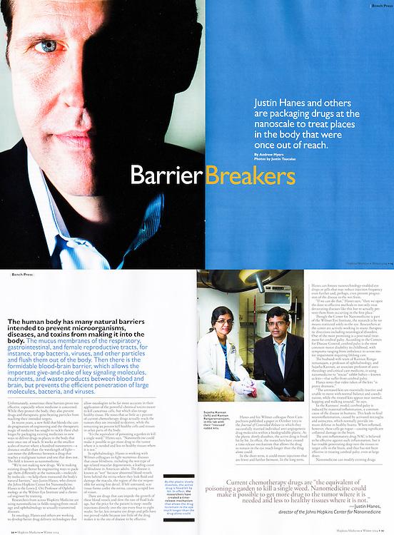 Hopkins Medical Magazine