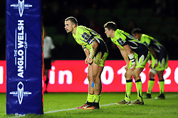 Mark Jennings of Sale Sharks looks on - Mandatory byline: Patrick Khachfe/JMP - 07966 386802 - 03/02/2017 - RUGBY UNION - The Twickenham Stoop - London, England - Harlequins v Sale Sharks - Anglo-Welsh Cup.