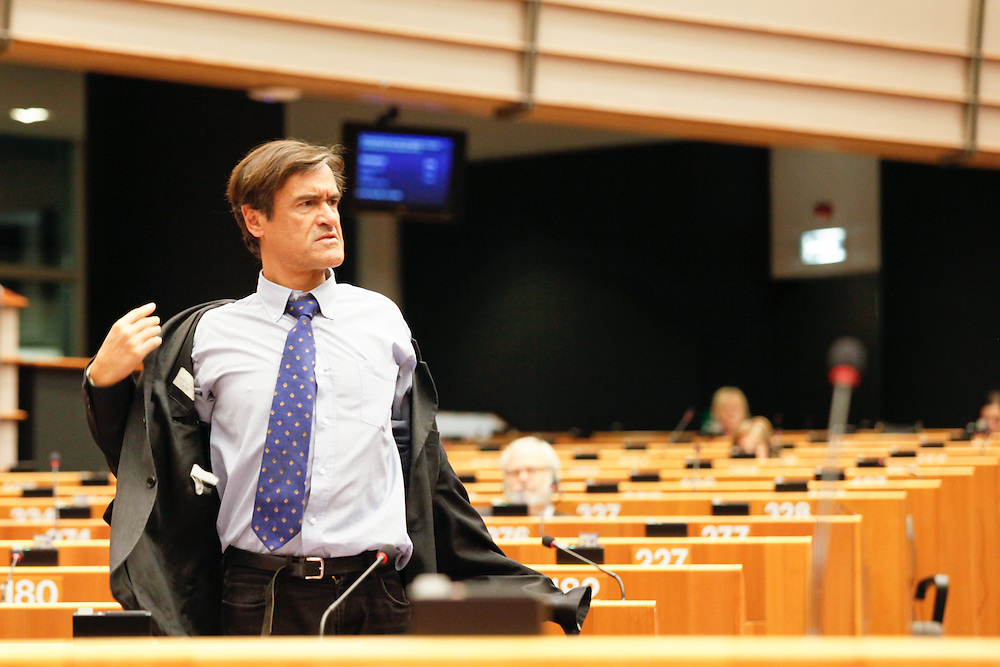 Meps in the hemicycle in Brussels, week 48 - Prepration for the European Council