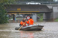 Christchurch-Heathcote River floods after heavy rain