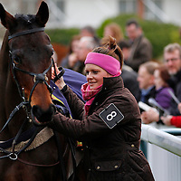 Gemma Gracy-Davison and Toms River Tess in the parade ring