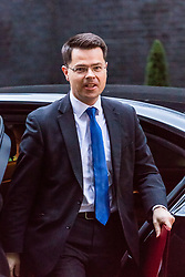 London, November 22 2017. Secretary of State for Northern Ireland James Brokenshire attends the UK cabinet meeting at Downing Street. © Paul Davey