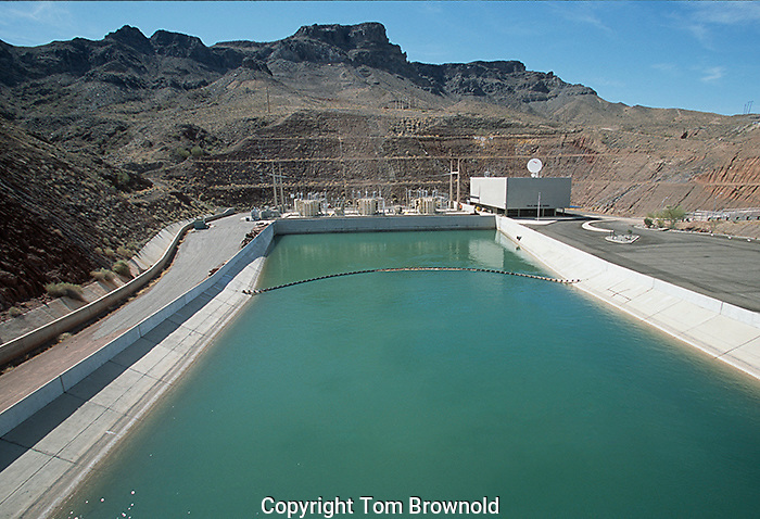 Induction of colorado river water into the CAP from Lake Havasu