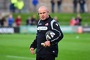 Edinburgh's coach Richard Cockerill during the Guinness Pro 14 2017_18 match between Edinburgh Rugby and Dragons Rugby at Myreside Stadium, Edinburgh, Scotland on 8 September 2017. Photo by Kevin Murray.