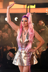 Winner Shane Jenek aka Courtney Act at the Celebrity Big Brother House 2018, Elstree Studios, Borehamwood. Picture credit should read: Doug Peters/EMPICS Entertainment