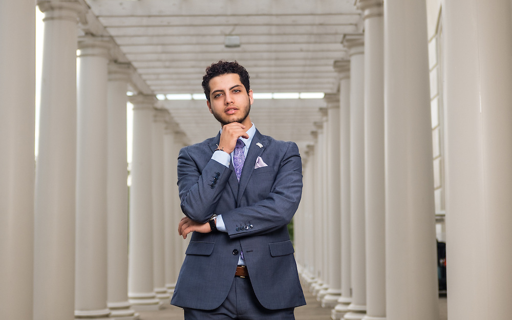 Omar Kurdi. © Ohio University / Photo by Rob Hardin