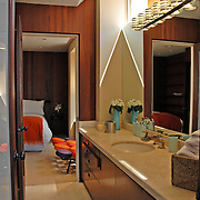 bathroom & guest room
