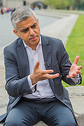 The Mayor of London Sadiq Khan talks about the arts in an interview after watching Londoners as they warmed-up at City Hall for the international Big Dance Pledge. On Friday 20 May, over 40,000 people in 43 countries around the world will take part in the Big Dance event, which has been specially choreographed by Akram Khan. Among the Londoners were: Students from University of Roehampton; MovE17 community group; Children from John Scurr Primary School; and the Croydon Community Dance group. This year is the finale of Big Dance, celebrating ten years of grassroots and community dance.