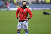 Walsall midfielder Erhun Oztumer (10) during the EFL Sky Bet League 1 match between Oxford United and Walsall at the Kassam Stadium, Oxford, England on 31 December 2016. Photo by Dennis Goodwin.
