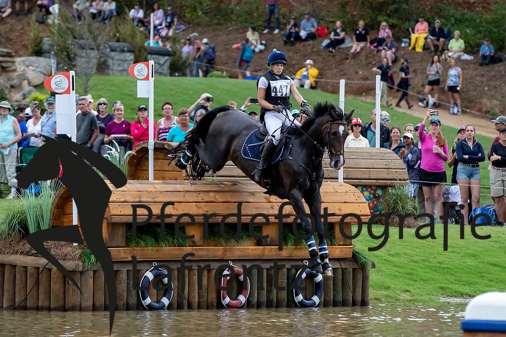 SWINDELLS Pauliina (FIN), Ferro S<br /> Tryon - FEI World Equestrian Games™ 2018<br /> Vielseitigkeit Teilprüfung Gelände/Cross-Country Team- und Einzelwertung<br /> 15. September 2018<br /> © www.sportfotos-lafrentz.de/Dirk Caremans