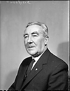 Mr. Bernard Fee, Chairman of Vocational Teachers Organization at 3 Royce Rd., Phibsborough.<br /> 07.01.1960
