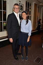 JAY JOPLING and HIKARI YOKOYAMA at a film screening in aid of the charity Women for Women held at BAFTA, 195 Piccadilly, London on 26th February 2014.