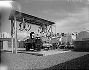 New Shell Depot at Ballina, Co. Mayo. <br /> <br /> 27.04.1961