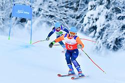 Women's Giant Slalom, FITZPATRICK Menna, Guide: KEHOE Jennifer, B2, GBR at the WPAS_2019 Alpine Skiing World Championships, Kranjska Gora, Slovenia