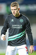 Queens Park Rangers defender Jake Bidwell (3) warms up prior to the EFL Sky Bet Championship match between Queens Park Rangers and Rotherham United at the Loftus Road Stadium, London, England on 13 March 2019.