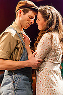 "Rowan Michael Meyer and Alex Trxow in Owen Davis's ""The Detour"" at Metropolitan Playhouse."