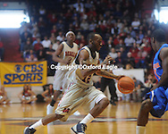 Mississippi's Chris Warren (12) vs. Florida at the Tad Smith Coliseum in Oxford, Miss. on Saturday, February 20, 2010 in Oxford, Miss. Florida won 64-61.