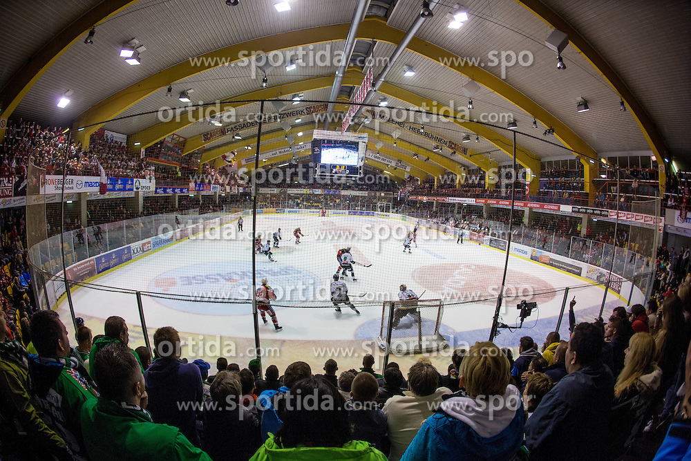 View on the rink during ice-hockey match between EC KAC and HDD Telemach Olimpija in 1st Round of EBEL League in Season 2014 / 15 on September 12, 2014 in Sporthalle KAC, Klagenfurt, Slovenia. Photo by Matic Klansek Velej / Sportida