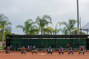 Vero Beach, Florida - December 27, 2014: Softball Factory Christmas Camp and Tournament at Dodger Town.<br />