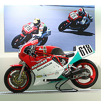 #618 Ducati 750 F1, at the Ducati Museum, Bologna, Italy, May 2014