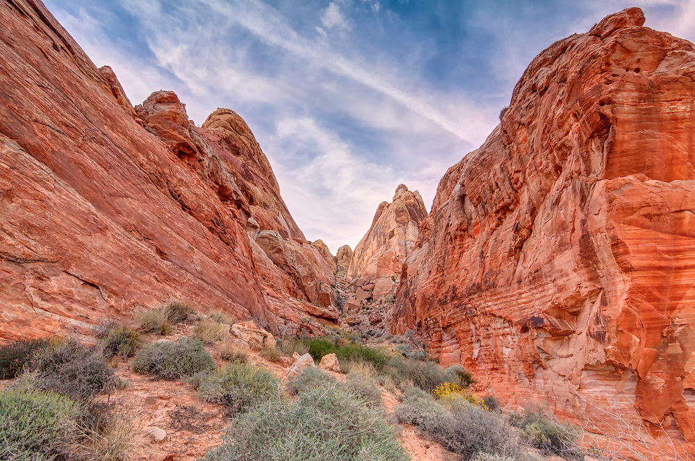 Nevada's Valley of Fire is one of the most spectacular places in the United States. Unbelievably red sandstone canyons, rock formations and rare habitat-specific wildlife make for one of the very best places for a hike or hiking trip one could hope for.
