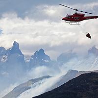 Fire Devastates Torres del Paine