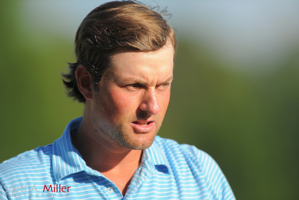 Webb Simpson during the third round of the Wells Fargo Championship at the Quail Hollow Club on May 5, 2012 in Charlotte, N.C. ..©2012 Scott A. Miller.