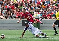 OTTAWA, ON - JUNE 20: USL match between the Ottawa Fury FC and Orlando City B at TD Place Stadium in Ottawa, ON. Canada on June 20, 2017.<br /> <br /> PHOTO: Steve Kingsman/Freestyle Photography/Ottawa Fury FC